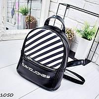 Рюкзак женский David Jones черный 1050
