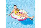 Надувной круг-тюбинг Intex 56265 Пончик, фото 2