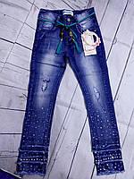 Крутые джинсы-рванки 116 фирмы Childhood.