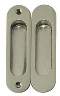 Ручки для раздвижной двери (без замка)  USK шлифованный никель