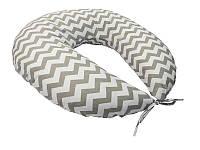 Подушка для годування Зигзаг KIDIGO (з наволочкою)