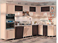 "Кухня Престиж ""КХ-299"" (3,2х1,7м)(Комфорт)"