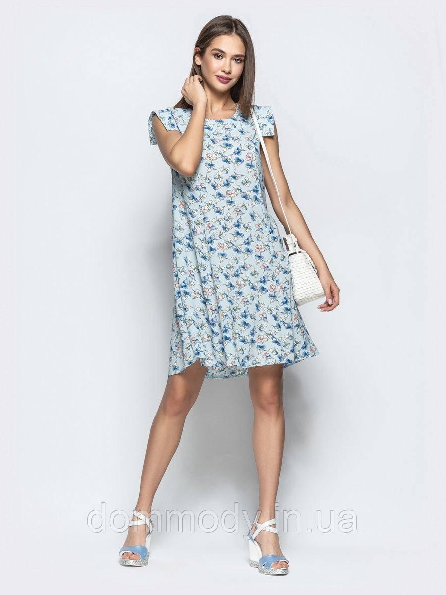 Платье женское из креп-шифона