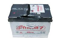 А-мега  Аккумулятор  6СТ-75 АЗ(1 Ultra+  )