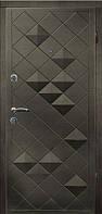 Входная дверь МАГДА Тип-2 КВАРТИРА венге темный 327 (860) R +KALE