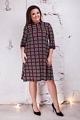 Женское платье монашка поло марсаловое 8163