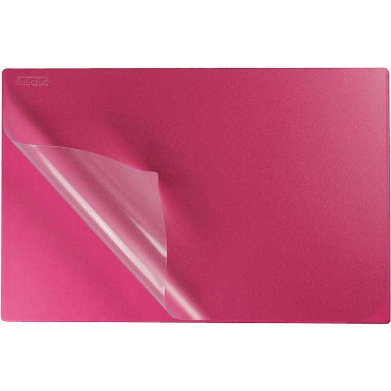 Подложка на стол 38*58 см Biurfol с карманом KPB-01_Розовый