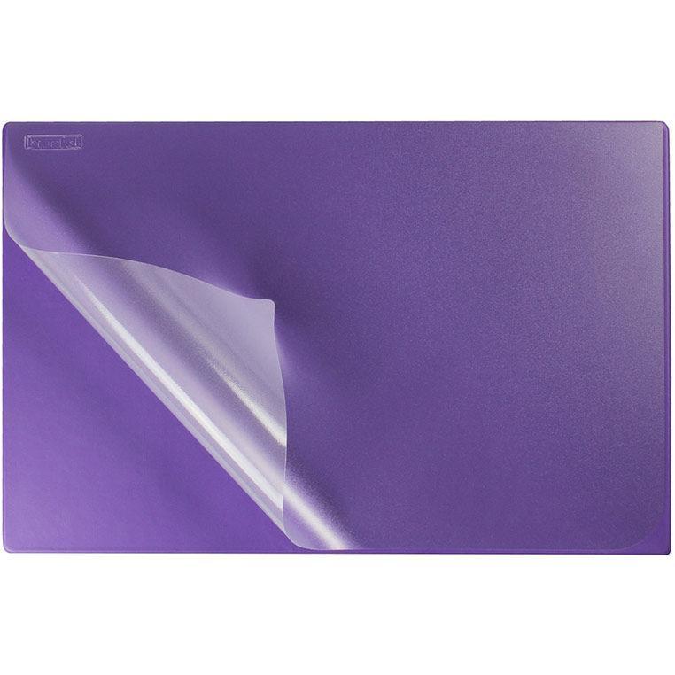 Подложка на стол 38*58 см Biurfol с карманом KPB-01_Фиолетовый
