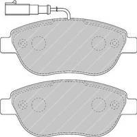 Тормозные колодки (137x57.3x18.4) Fiat DOBLO 01-/10-  PROFIT 5000-1467