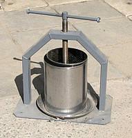 Пресс для сока ручной 10 л  (нержавейка)