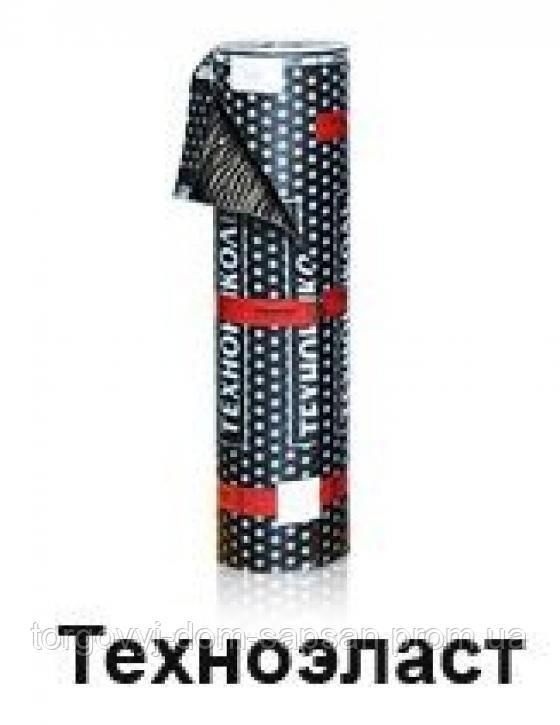 """Рулонный гидроизоляционный материал ТехноНИКОЛЬ Техноэласт ЭПП 10*1 м  - Торговый Дом """"САПСАН"""" в Харькове"""