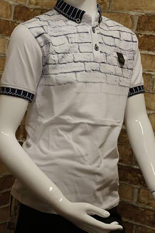 Подростковая  футболка на лето для мальчика 11-14 лет, фото 2