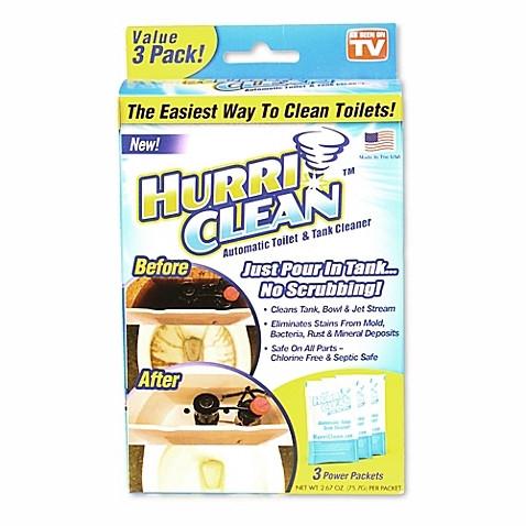 Увлажняющий очиститель для туалета от Hurri Clean