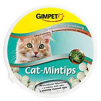 Витаминизированное лакомство для котов и кошек Gimpet Cat-Mintips с кошачьей мятой 90 таблеток