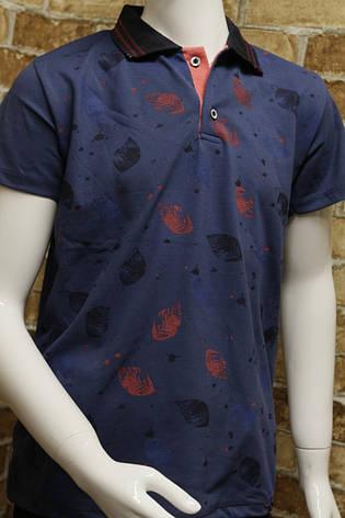 Детская летняя стильная футболка для мальчика 5-8 лет , фото 2