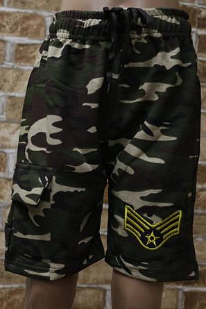 Камуфляжные шорты для мальчика подросток 9-12 лет, фото 2