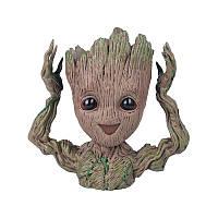 Цветочный горшок Грут Groot Happy BoxShop (GG-2365)