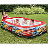 """Детский надувной бассейн """"Тачки"""" 57478 262х175х56см Disney-Pixar, фото 3"""