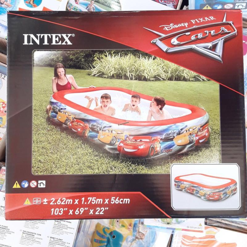 """Детский надувной бассейн """"Тачки"""" 57478 262х175х56см Disney-Pixar"""