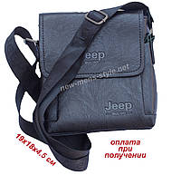 382aeac143c0 Мужская фирменная чоловіча кожаная сумка барсетка через плечо Jeep (2)