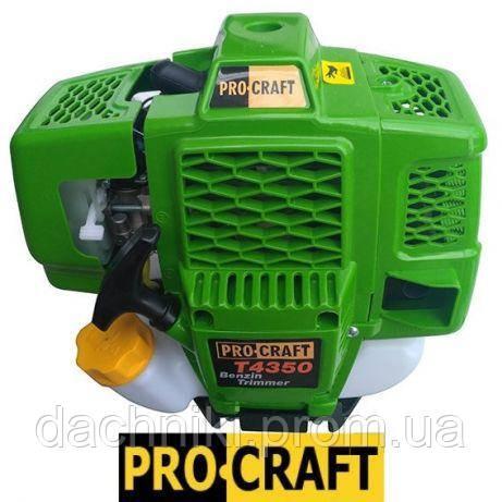 Бензокоса PROCRAFT T 4350 (3 диска / 1 леска)