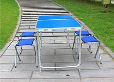 Раскладной стол для пикника со стульями Folding Table 4 Seat, стол и 4 стула, стол раскладывающийся, фото 3
