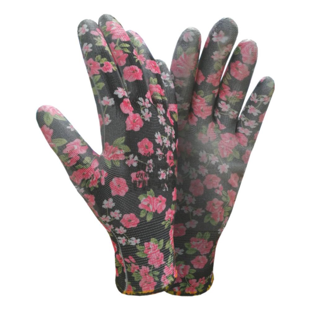 Рукавички трикотажні квітка чорний (9446501)