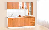 Кухня Венера П комплект 2м ольха Світ Меблів