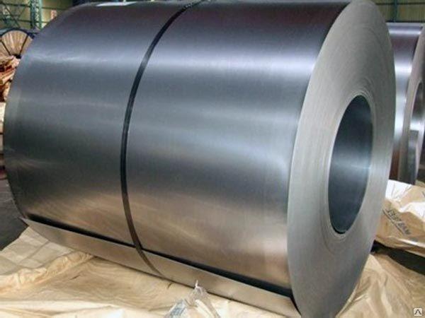 Сталь оцинкованная в рулонах толщиной 0,26 - 0,35 мм.