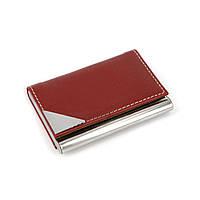Визитница для личных визиток с защитной насадкой в месте наибольшего соприкосновения S623-1