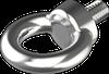 Болт с кольцом М6х13 (рым-болт) DIN 580