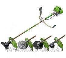 Бензокоса Procraft T-5600 ( 4-х тактная , 3 ножа 1 металл. катушка ), фото 2