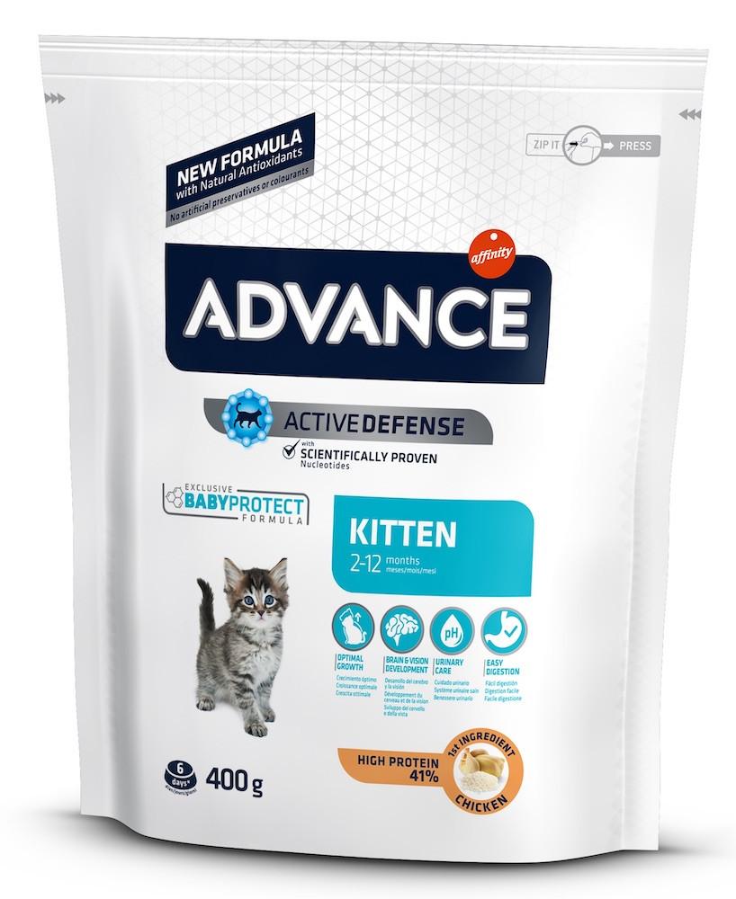 Сухий корм для кошенят ADVANCE Kitten 400 г