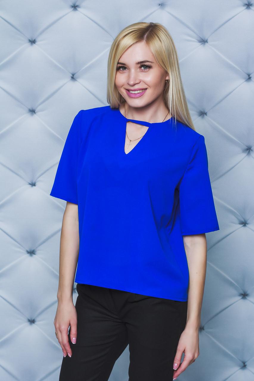 Блуза женская электрик