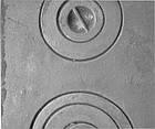 Плита чугунная печная с комфорками ПД-2 (590 х 350 мм.), фото 5