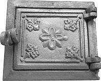 Дверка топочная на защелке ДТЗ-1