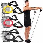 Эспандер трубчатый  для укрепления мышц, фото 6