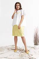 """Женский повседневный костюм больших размеров """" Блузка и юбка """"  Dress Code, фото 1"""