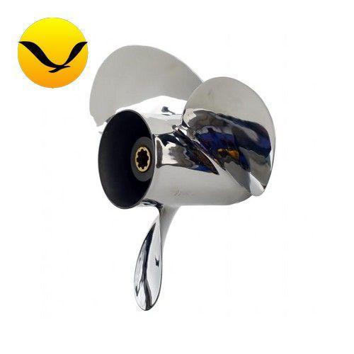 Гребной винт Yamaha 40-60HP (11-1/8x13G) Polaris. Сталь; 663-45945-02-EL; (Гребной винт Ямаха)