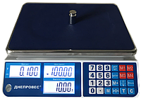 Весы торговые с поверкой  ВТД-15СЛ1