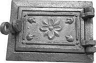Дверка поддувная (зольная) на защелке ДПЗ-1
