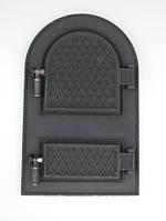 Дверка спаренная арочная FESGUSS DS-01 (540 х 340 мм.)