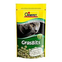 Витаминизированное лакомство для котов и кошек Gimpet GrasBits с травой 40 г