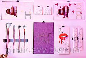 Набор косметики подарочный Кайли Kylie I WANT IT ALL розовый
