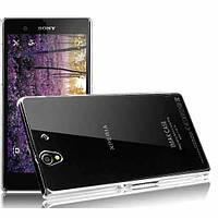 "Sony C6603/6602 Z Xperia ПРОЗРАЧНЫЙ чехол накладка бампер ПОЛИКАРБОНАТ (не выгорает) на телефон ""IMAK 100%ориг"
