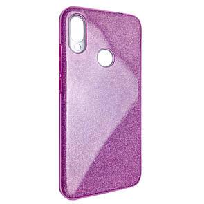 Чехол Silicone Glitter Heaven Rain Xiaomi Redmi 7 (pink)