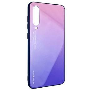 Чехол-накладка DK-Case силикон Glass Case Gradient Believe для Xiaomi Mi 9 (04)