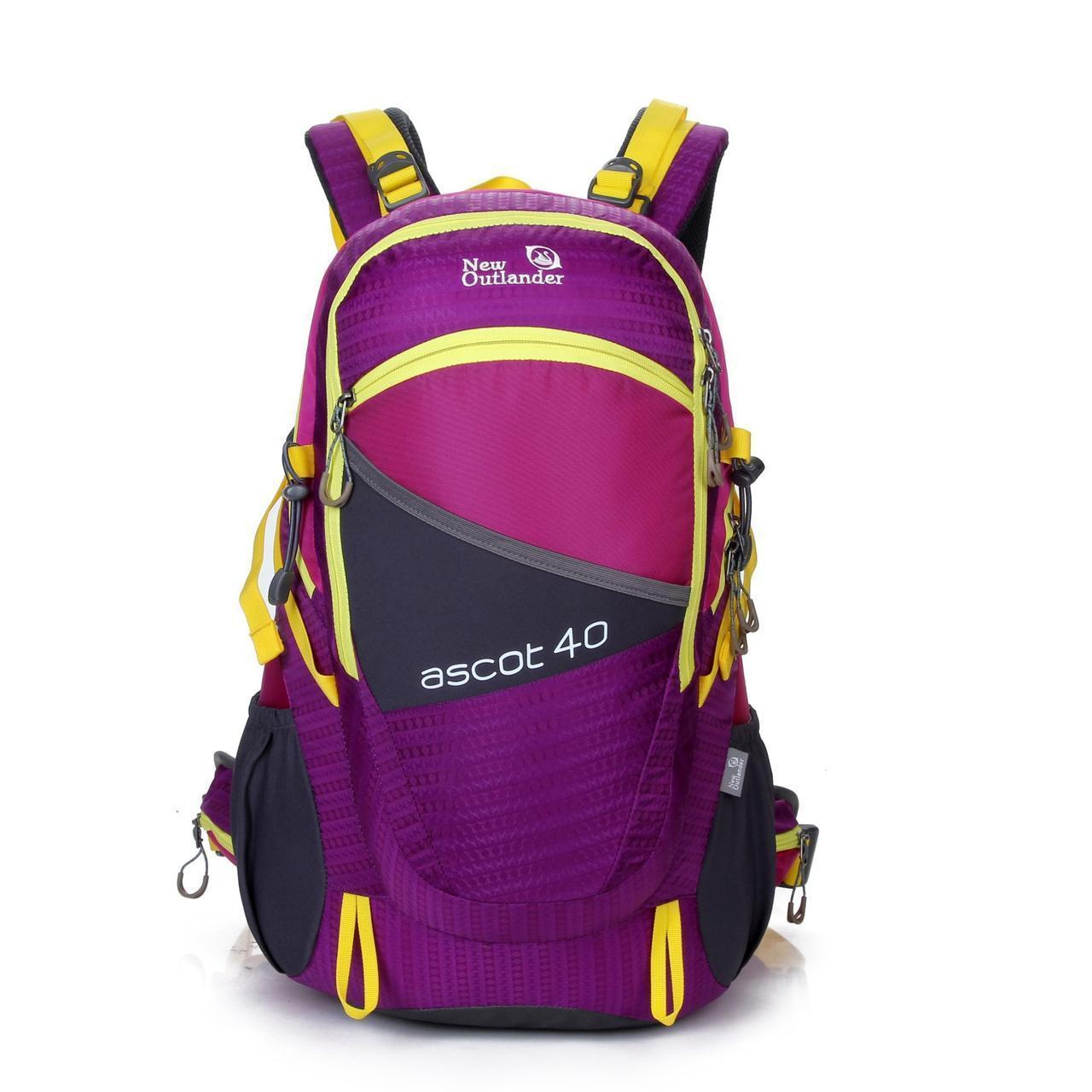 Рюкзак туристический большой 40 л New Outlander-фиолетовый(AV 1504)