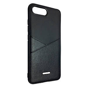 Чехол Silicone Karmann Xiaomi Redmi 6A (black)