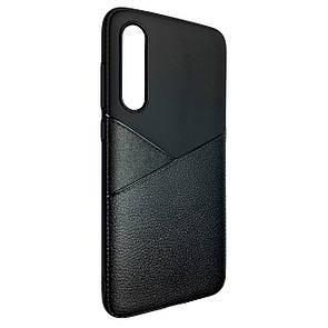 Чехол Silicone Karmann Samsung A70 (black)